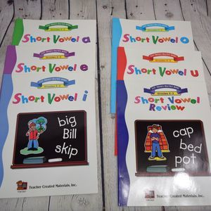 Short vowel book set